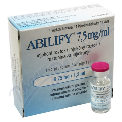 Abilify 7.5mg/ml inj.sol.1x9.75mg/1.3ml