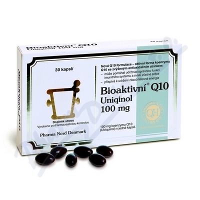Bioaktivní Q10 Uniqinol 100mg cps.30