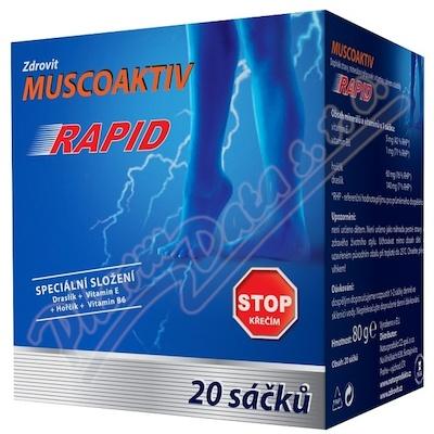 Muscoaktiv Stop křečím Rapid 20 sáčků