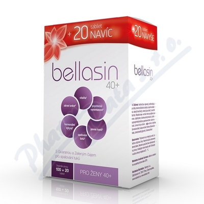 Bellasin NEW 40+ tbl.100+20 bls.