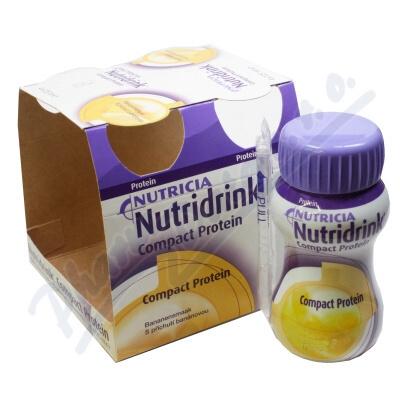Nutridrink Compact Protein př.ban.por.sol.4x125ml