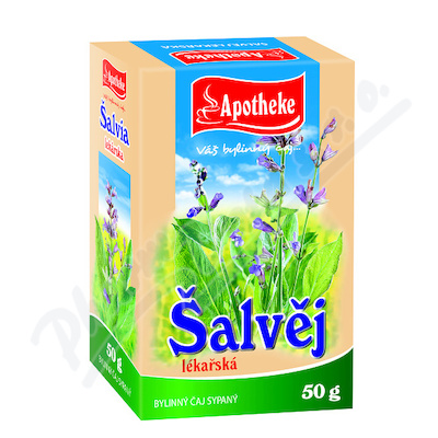 Apotheke Šalvěj lékařská nať sypaný čaj 50g