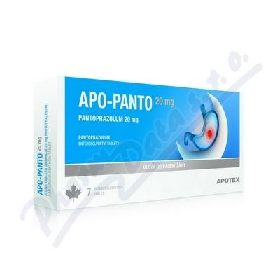 Apo-Panto 20mg tbl.ent.14x20mg
