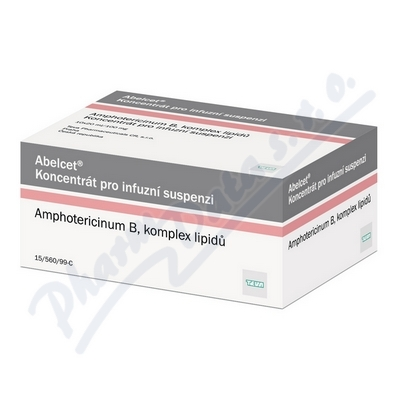 Abelcet inf.cnc.sus.10x20ml/100mg