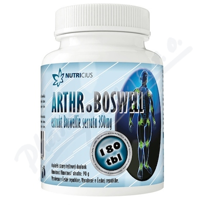 Arthroboswell extr.Boswellie serrata 350mg tbl.180