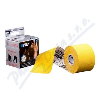 ARES kinesiology tape 5cm x 5m žlutá