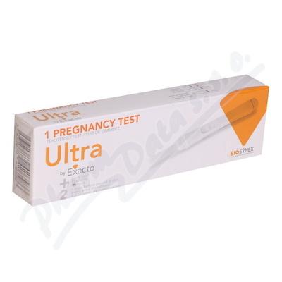 Těhotenský test EXACTO ULTRA tyčinka NEW