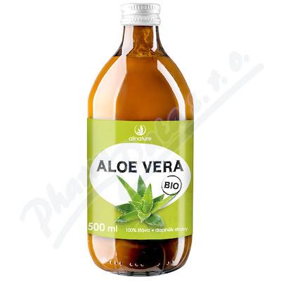 Allnature Aloe Vera BIO 100% šťáva 500 ml