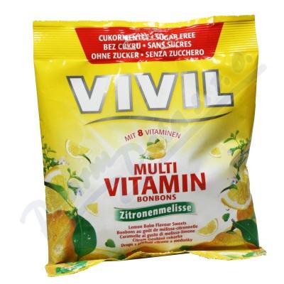 Vivil Multivitamín citr+meduňka 8vit.bez cukru 60g
