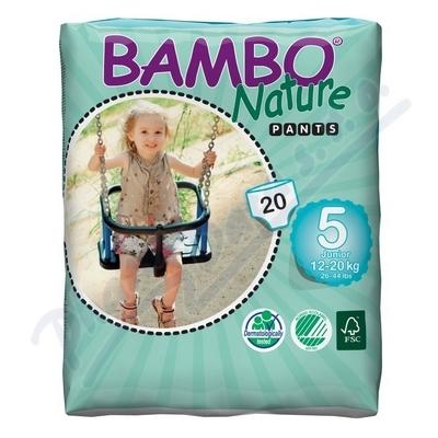 BAMBO Nature Pants Junior navl.plen.k.trénink 20ks