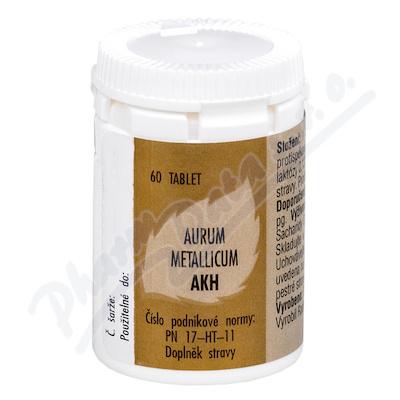 Aurum metallicum AKH por.tbl.60
