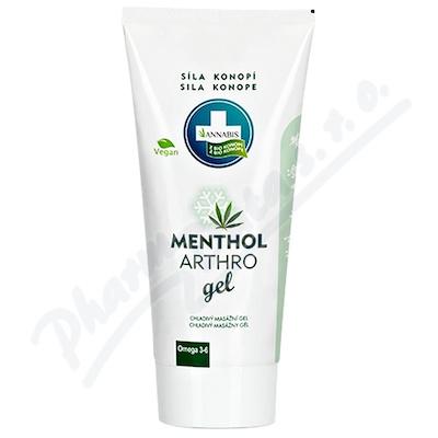 Annabis Menthol Arthro gel chladivý 200ml