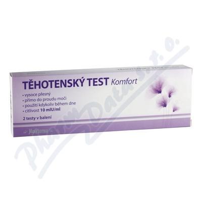 MedPharma Těhotenský test Komfort 10mlU/ml 2ks