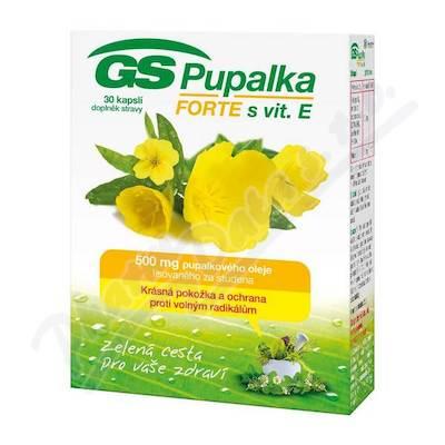 GS Pupalka Forte s vitaminem E cps.30 2016