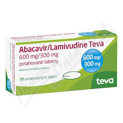 Abacavir/Lamivudine Teva 600mg/300mg tbl.flm.30