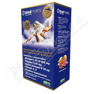 DIAS FORTE grapefruit sáčky 30x11.3g