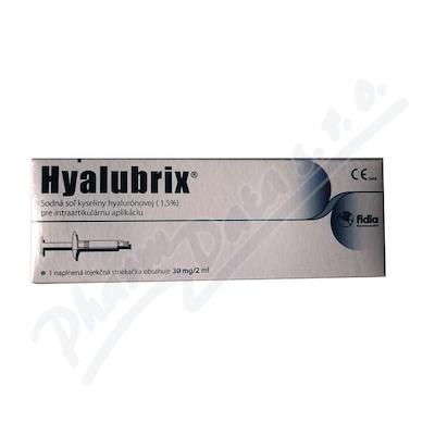 Hyalubrix injekce viskoelastický roztok 1x2ml/30mg