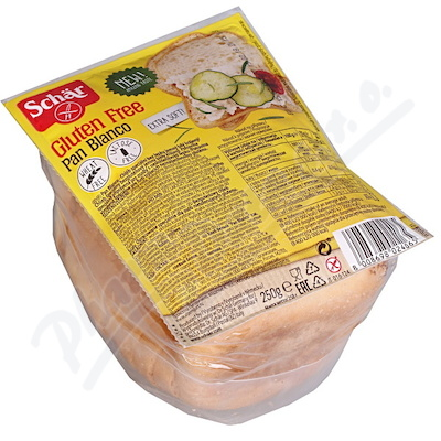 SCHAR PAN BLANCO chléb speciál.bez lepku bílý 250g