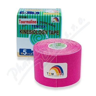 Tejp. TEMTEX kinesio tape Tourmaline růžová 5cmx5m