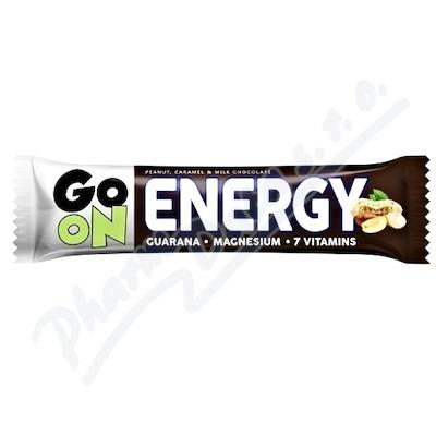 GO ON Energetická tyčinka oříšek karamel 50g