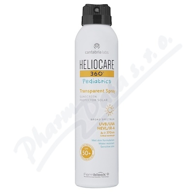 HELIOCARE Pediatrics Transparent spraySPF50+ 200ml
