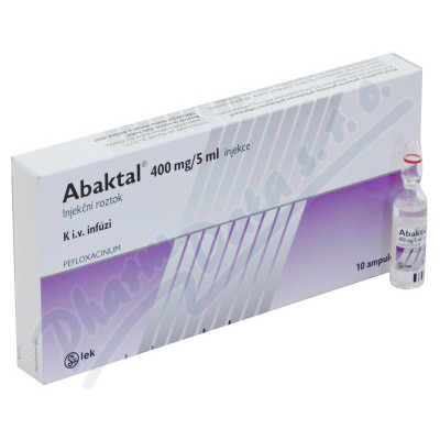 Abaktal inj.10x5ml/400mg