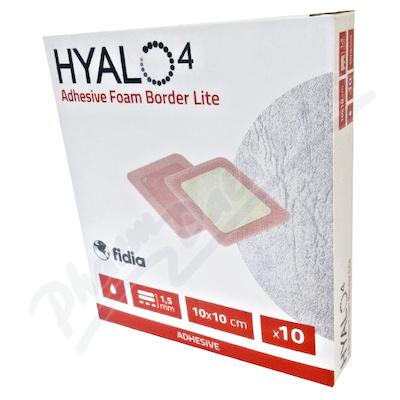 Hyalo4 Silic.Adhes.Border Lite Foam dr.10x10/10ks