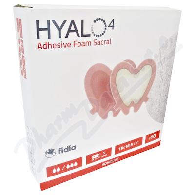 Hyalo4 Silic.Adhes.Border Foam Sacral 18x18.5 10ks