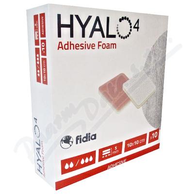 Hyalo4 Silic.Adhes.Non-Border Foam Dres.10x10 10ks