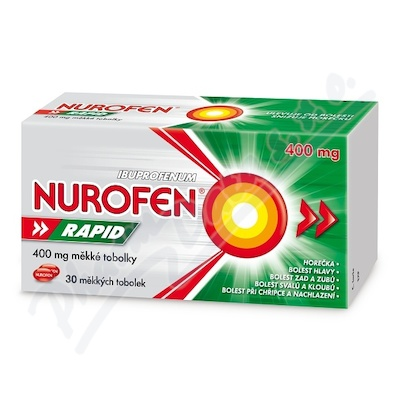 Nurofen Rapid 400mg cps.mol.30