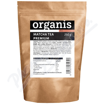 Organis Matcha Tea Premium 250g