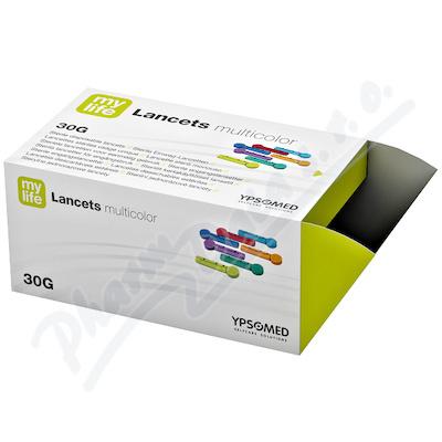 mylife Multicolor jednorázové lancety 30G 200ks