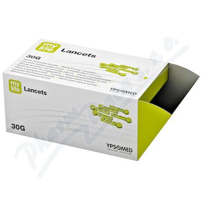 mylife Green jednorázové lancety 30G 200ks
