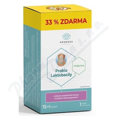 APOROSA Probio Laktobacily cps.15+5