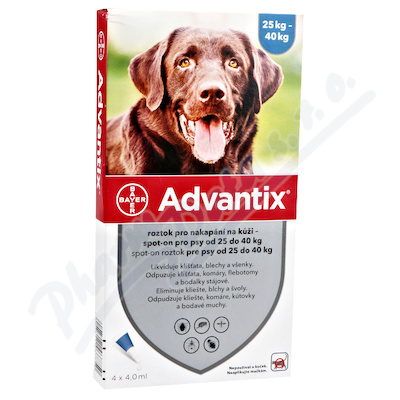 Advantix pro psy 25-40kg spot-on 4x4ml