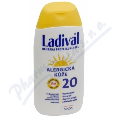 LADIVAL ALERG OF20 GEL 200ml
