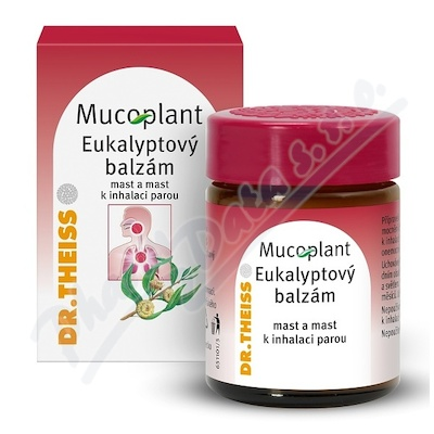 Mucoplant Eukalyptový balzám ung./inh.vap.1x50g