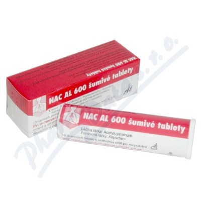NAC AL 600 Šumivé Tablety por.tbl.eff.10x600mg