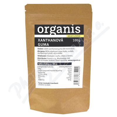 Organis Xanthanová guma 100g