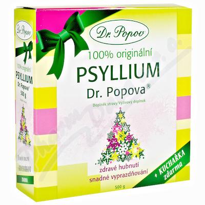 Dr.Popov Psyllium indic.rozp.vláknina 500g Vánoční