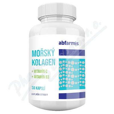 Abfarmis Mořský kolagen+vit.C+vit.B3 cps.30