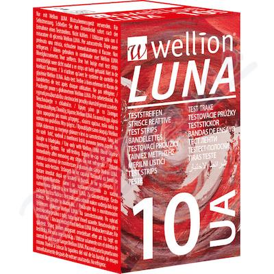 Wellion LUNA testovací proužky kyseli.močová 10ks