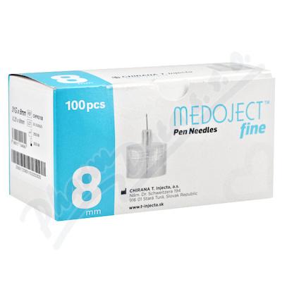 MEDOJECT fine jehly do inzulin.per 31Gx8mm 100ks