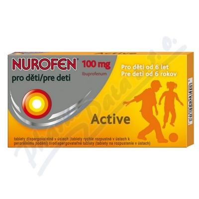 Nurofen pro děti Active por.tbl.dis.12x100mg