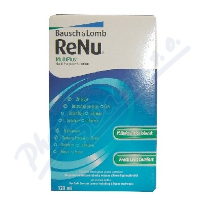 Bausch&Lomb ReNu MultiPlus Multi Purpose Sol.120ml