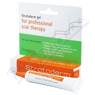 Strataderm gel k léčbě jizev 5-7cm 10g