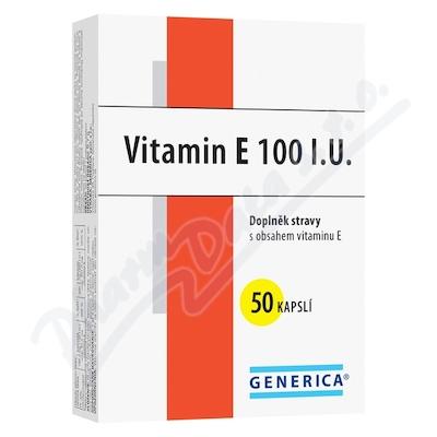Vitamin E 100 I.U. cps.50 Generica