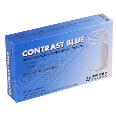 Contrast Blue 1x0.5ml + 1xkanyla