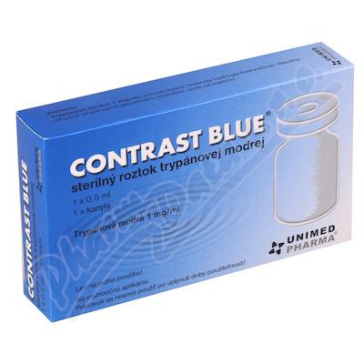 Contrast Blue 1x0.5ml+1xkanyla