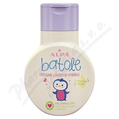 Batole dětské pleť.mléko s olivovým olejem 200ml